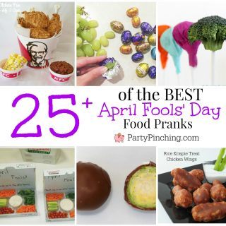 Best April Fools' Day food pranks, fun joke imposter food for kids family friends office, easy and fun April Fools' Day ideas