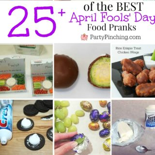 april fools day pranks, april fools day food imposters, fun food for kids, trick prank food, best pranks for April Fools' Day