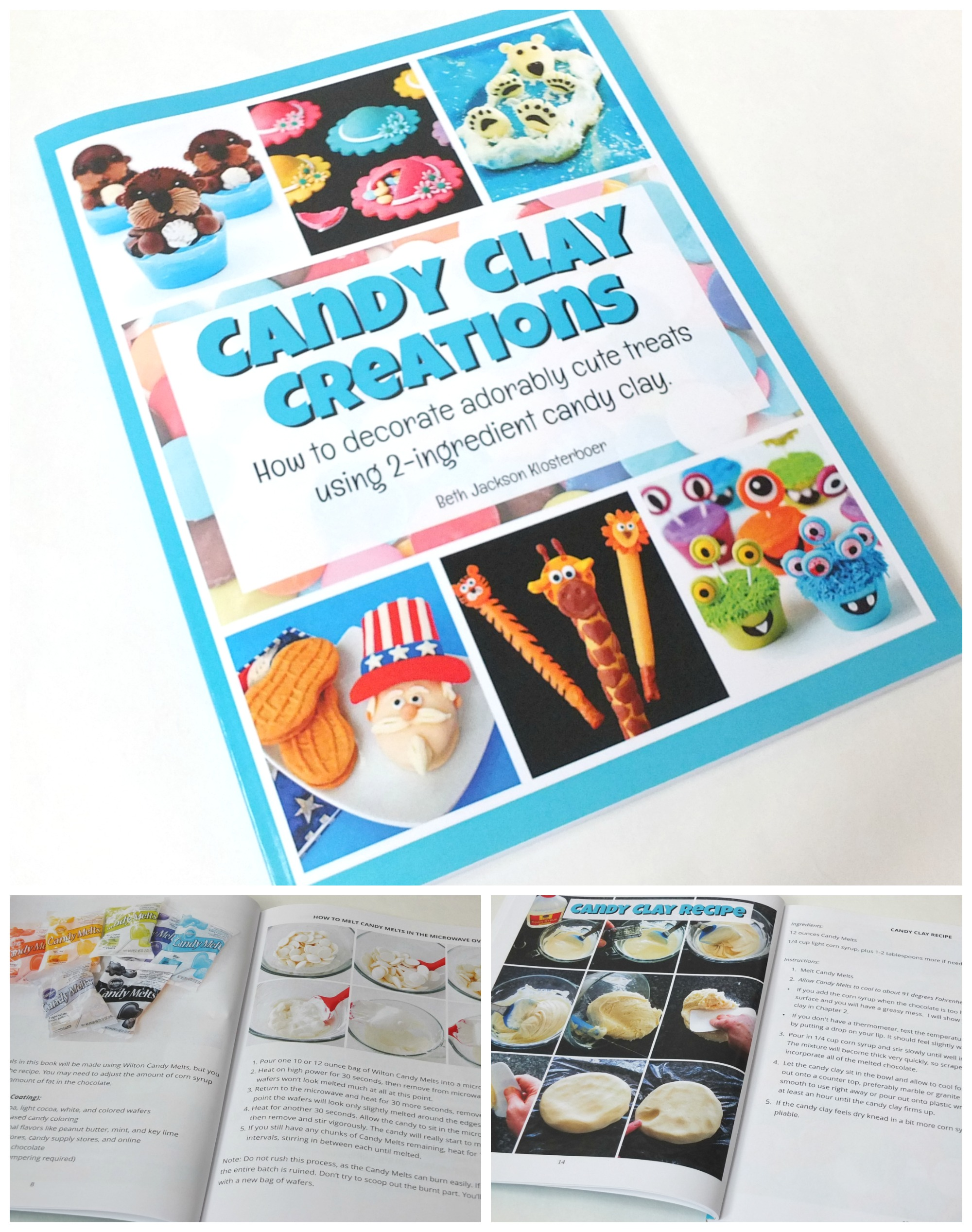 candy clay creations book by hungry happenings