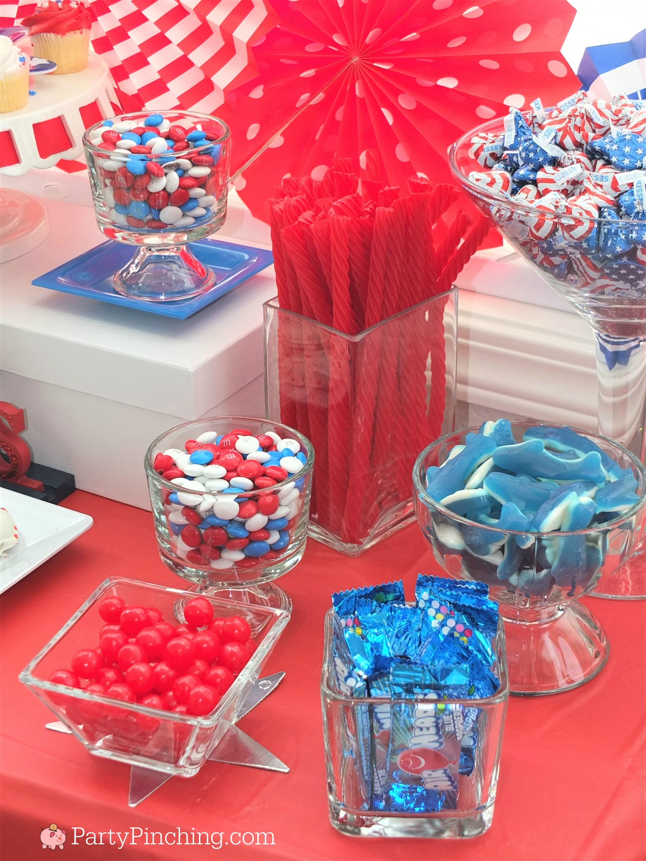 4th of july dessert ideas easy patriotic candy buffet