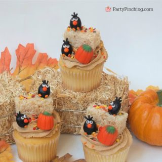 ADORABLE AUTUMN CUPCAKES