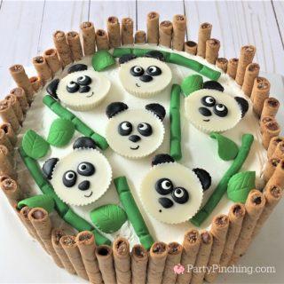 PANDA PEANUT BUTTER CUP CAKE
