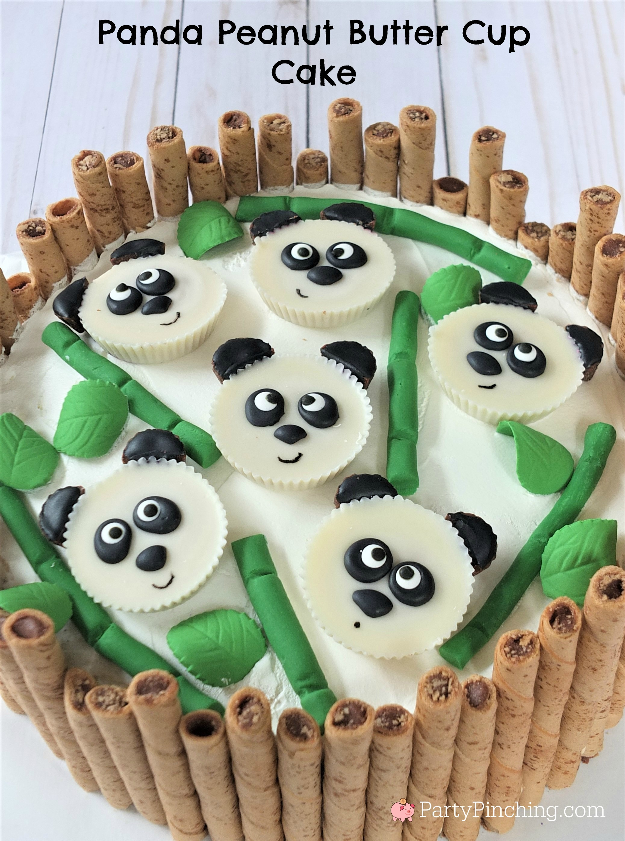 Best Panda Peanut Butter Cup Cake Chinese New Year Cake Cute Panda