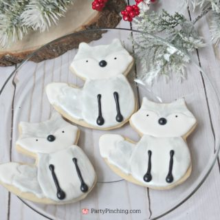 Arctic Fox Cookies