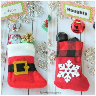 Naughty or Nice Christmas Treats