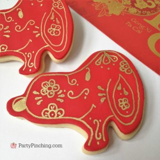 Year of the Dog Snoopy Cookies