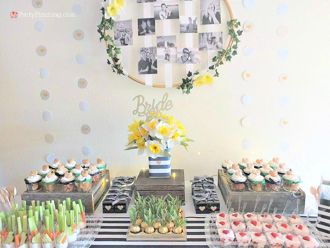 spring bridal shower daffodil bridal shower navy and green bridal shower easy bridal