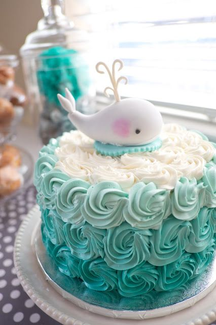 baby whale cake, baby shower ideas, cute baby shower, best baby shower ideas, baby shower cake, fun games for baby shower, baby shower food
