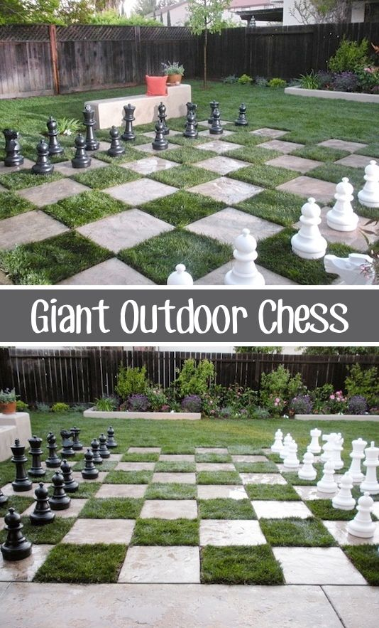 Giant chess set diy backyard, awesome ideas to keep kids busy summer, backyard party ideas , Best summer backyard games and outdoor activities for kids, diy summer projects for kids,fun ideas for kids summer , fun summer ideas for children, lots of summer activities for kids, outdoor games for summer