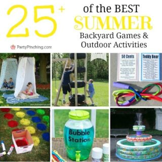 BEST SUMMER BACKYARD GAMES & OUTDOOR ACTIVITIES