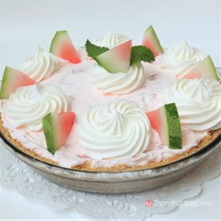 FLUFFY WATERMELON PIE