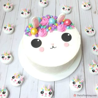 BUNNY CAKE & BUNNY OREO COOKIES