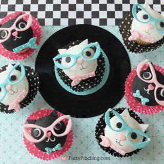 Cool Cat Cupcakes