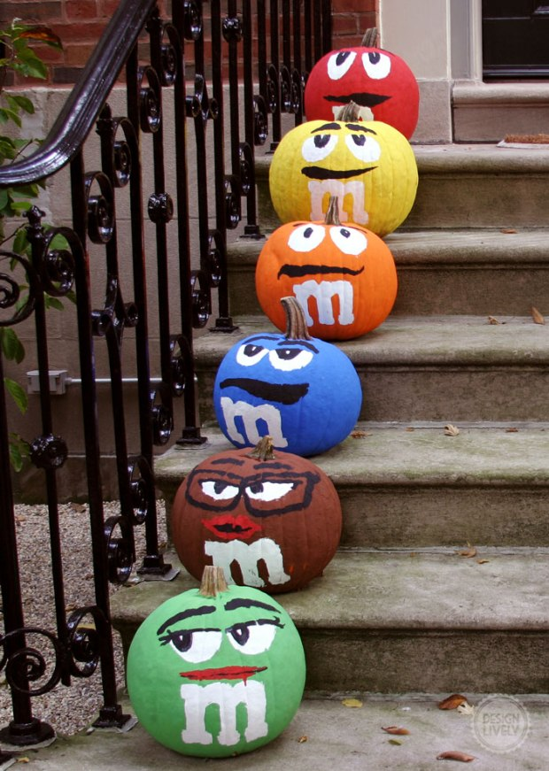 Best Halloween Pumpkin Decorating Ideas Easy Diy Carved
