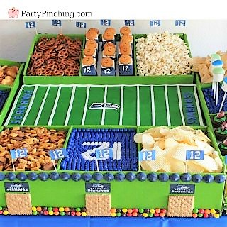 football food snack treat dessert stadium ideas