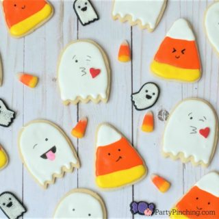 Too Cute to Spook Halloween Cookies