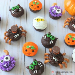 Halloween Mini Donuts