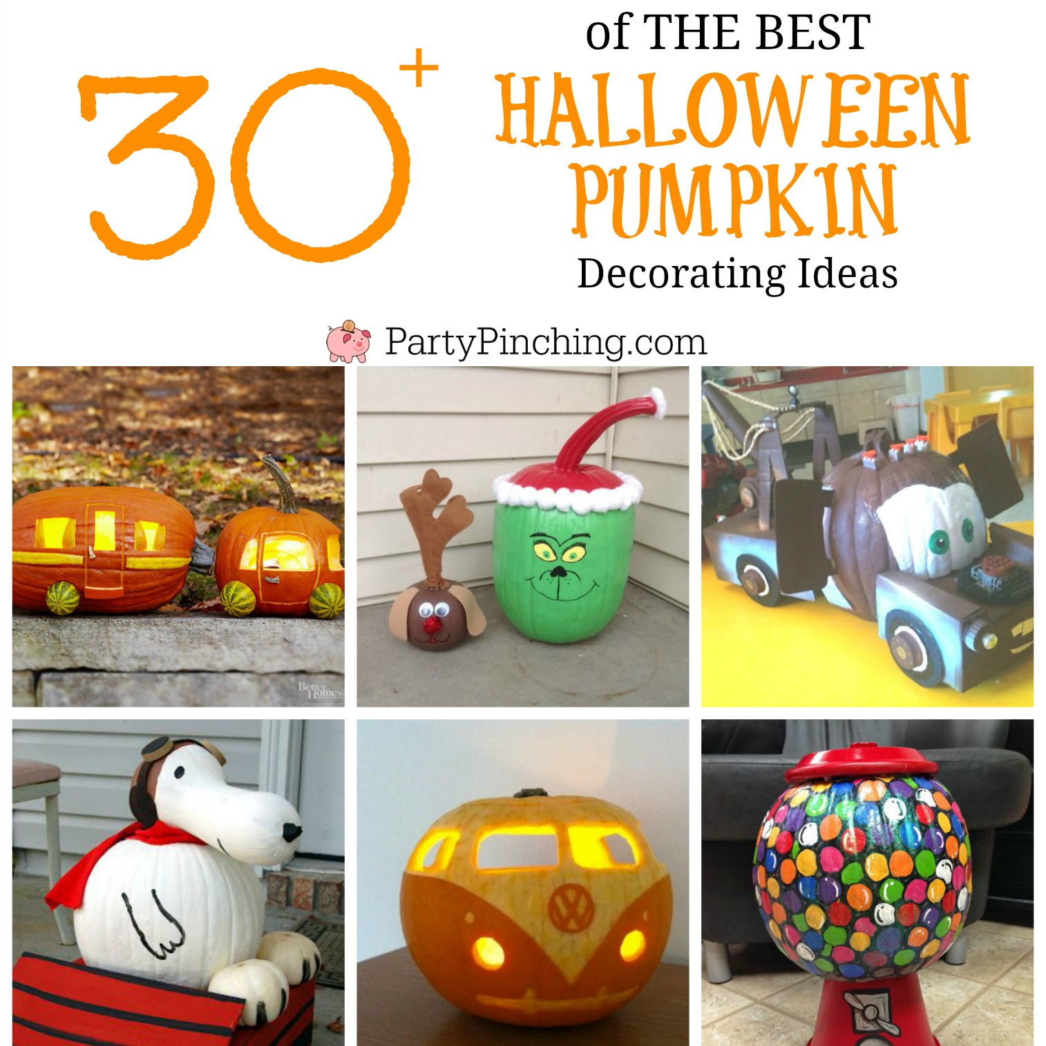 Best Halloween Pumpkin Decorating Ideas Easy Diy Carved Painted No