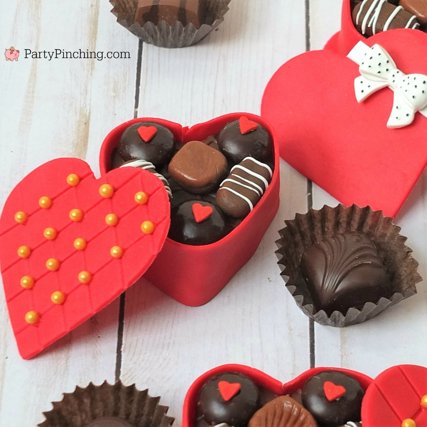 Mini Valentine Candy Box Cakes Best Valentine S Day Food