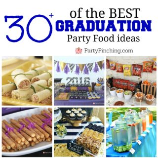 Best Graduation Food Party ideas, guests graduate food ideas they will love, easy graduation open house party food ideas