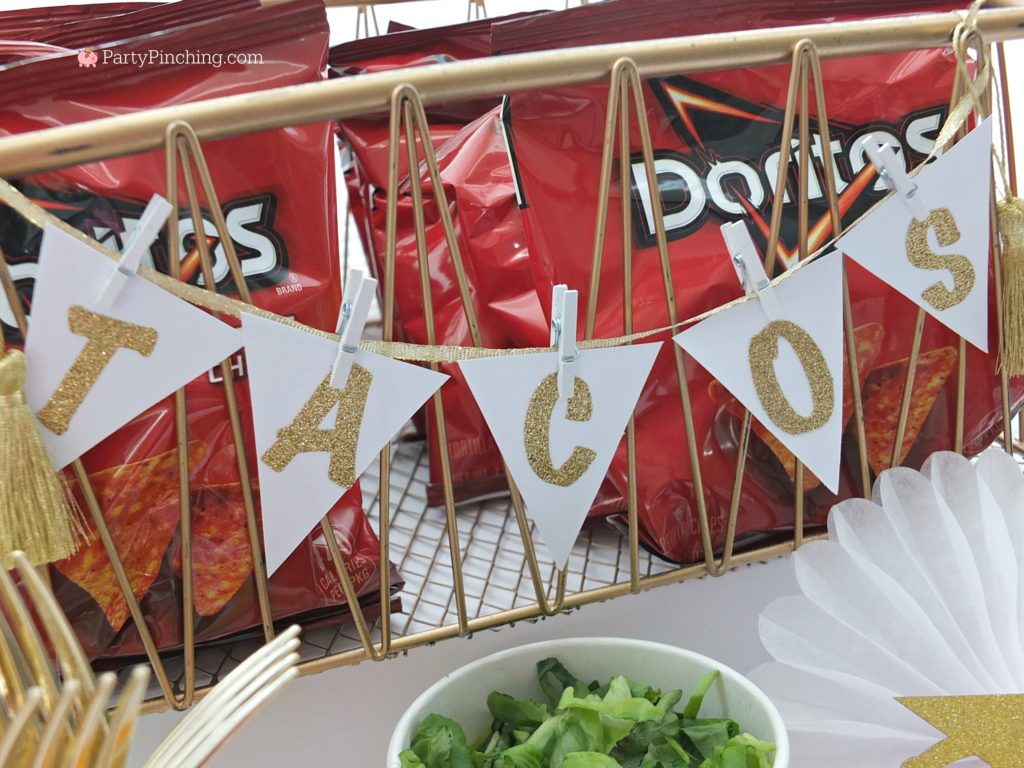 walking tacos, best graduation food ideas, best graduation open house party ideas, easy cheap grad ideas, best teen party ideas