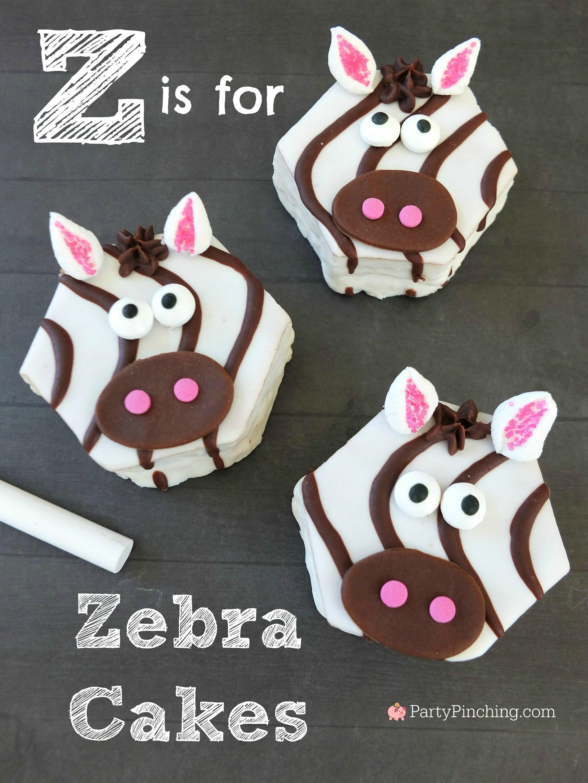 Z is for Zebra Cakes!