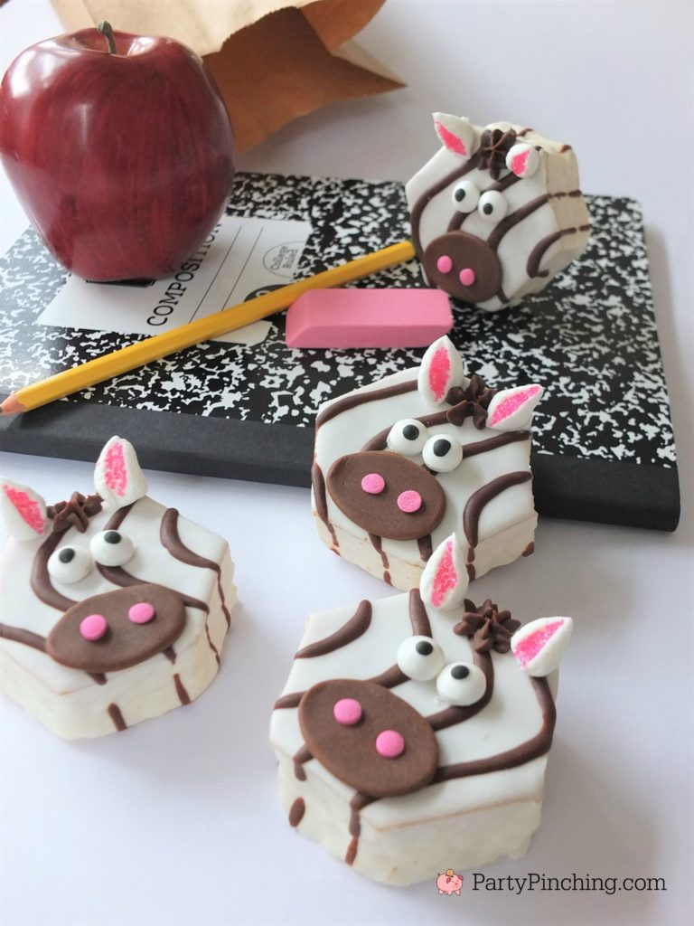 Zebra Cakes, Little Debbie Zebra Cakes, partypinching.com, best zebra cupcake recipes, best zebra party ideas, fun back to school snack food lunch ideas