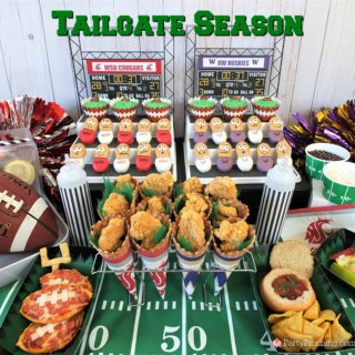 best tailgate food drink recipe party ideas, best tailgating snacks party ideas, best football big game super bowl party ideas, pizza footballs, caramel apple nachos, mini chili bread bowl, alcoholic capri sun, football fan cookies desserts washington husky uw huskies football, washington state cougars wsu football,