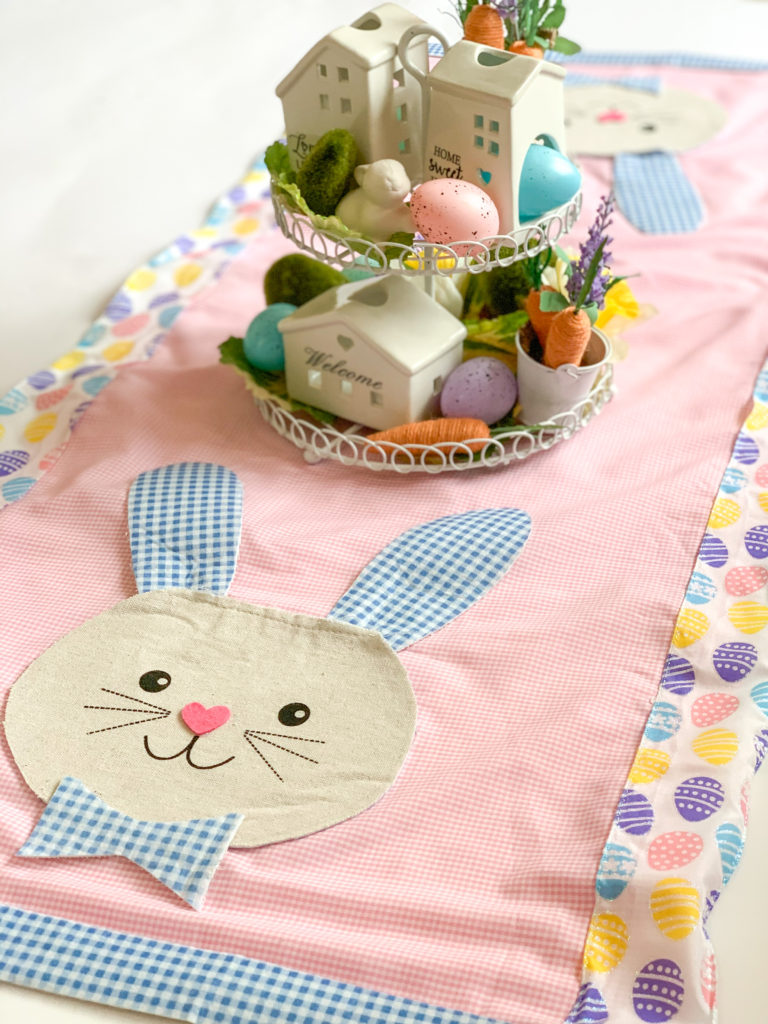 Dollar Tree DIY, Dollar Tree crafts, Easter Dollar store, dollar general diy, cheap inexpensive dollar store decor, budget crafts, best easter craft decor, bunny table runner