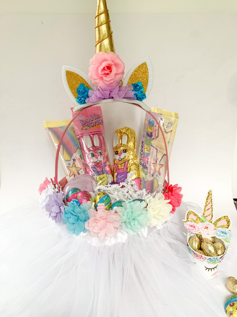 Unicorn Easter Basket, best DIY Easter baskets for kids, pretty cute Easter Baskets, inexpensive cheap Easter Baskets, unicorn party ideas, best unicorn party ideas, cutest unicorn treat dessert food recipe ideas