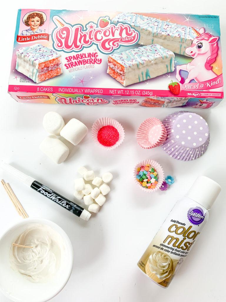 Unicorn Cake Pops Marshmallow Unicorn Party Ideas Unicorn Treats