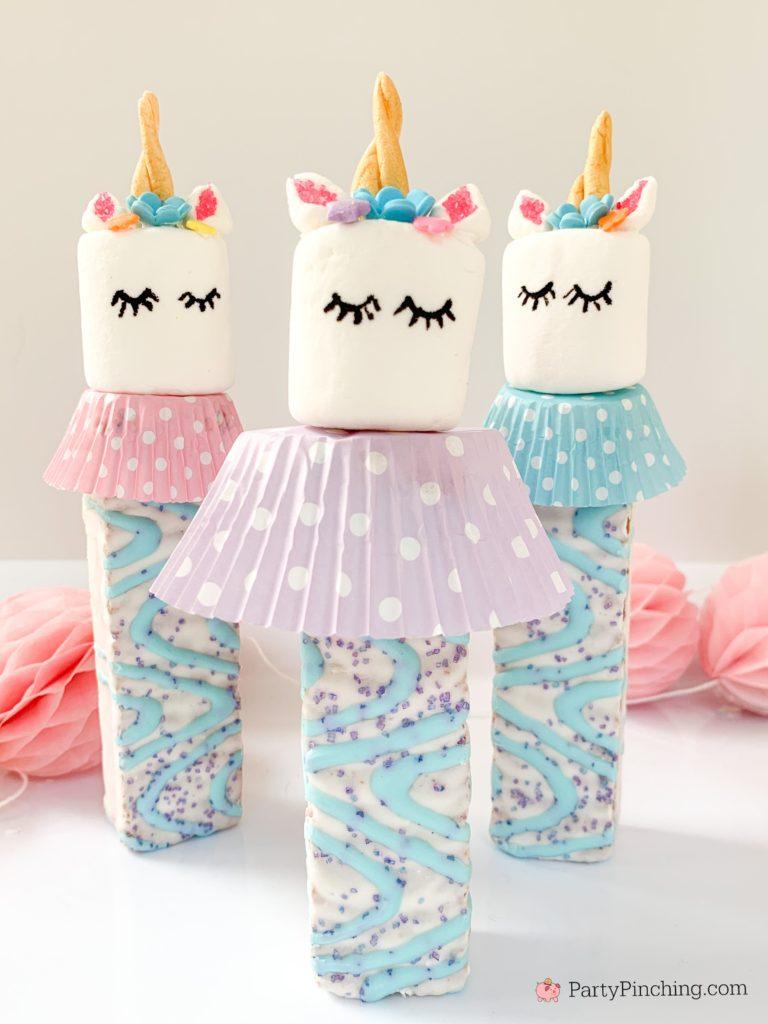 Unicorn Cakes, Best Unicorn Cake Recipes, Unicorn Party Ideas for Kids, Marshmallow Unicorn Treats, Unicorn Pops, Little Debbie Unicorn Cakes