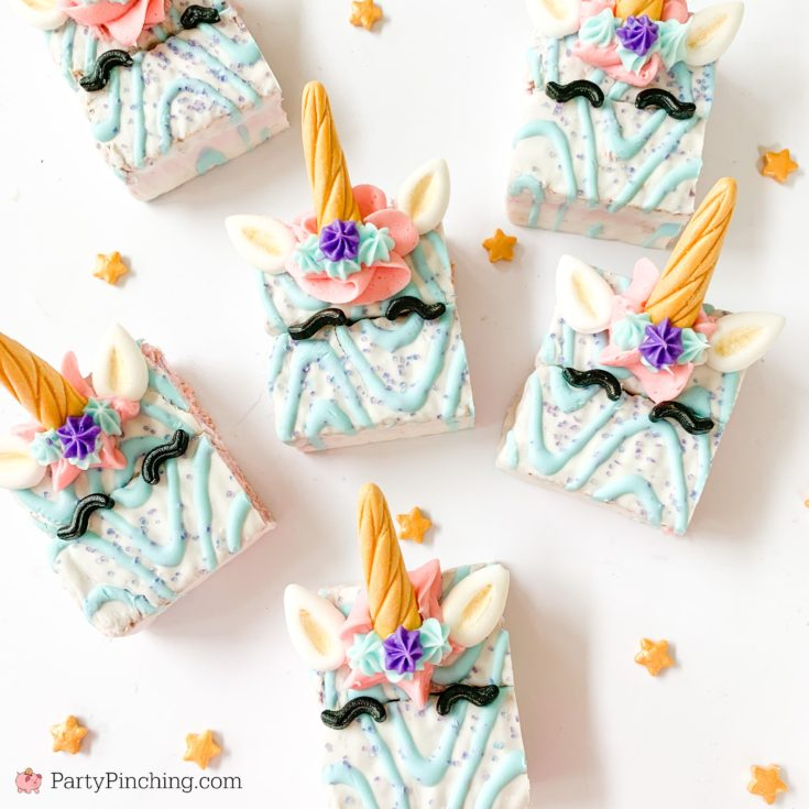 Easy Unicorn Cakes
