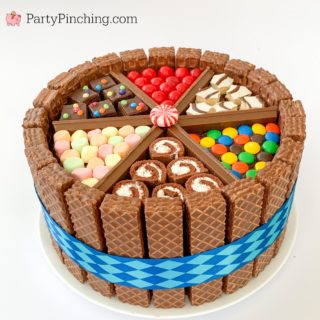 Candy Cake, Ultimate Cake, Easy Amazing Cake, Kids Party Cake, Easy Birthday Cake Ideas, Best Birthday Cake, Little Debbie Cake