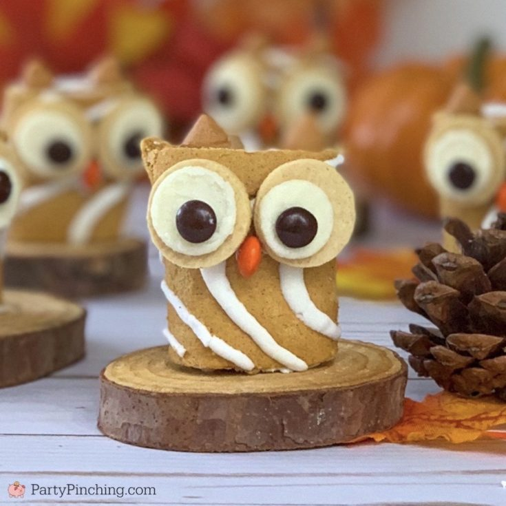 Pumpkin Spice Roll Owls