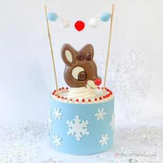 Rudolph Cake, Rudolph The Red Nosed Reindeer Cake Ideas, Rudolph Movie Party Ideas, Reindeer Cake, Best Christmas Cake Recipe