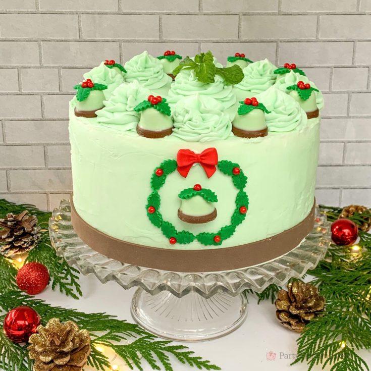 Minty Bells Chocolate Cake
