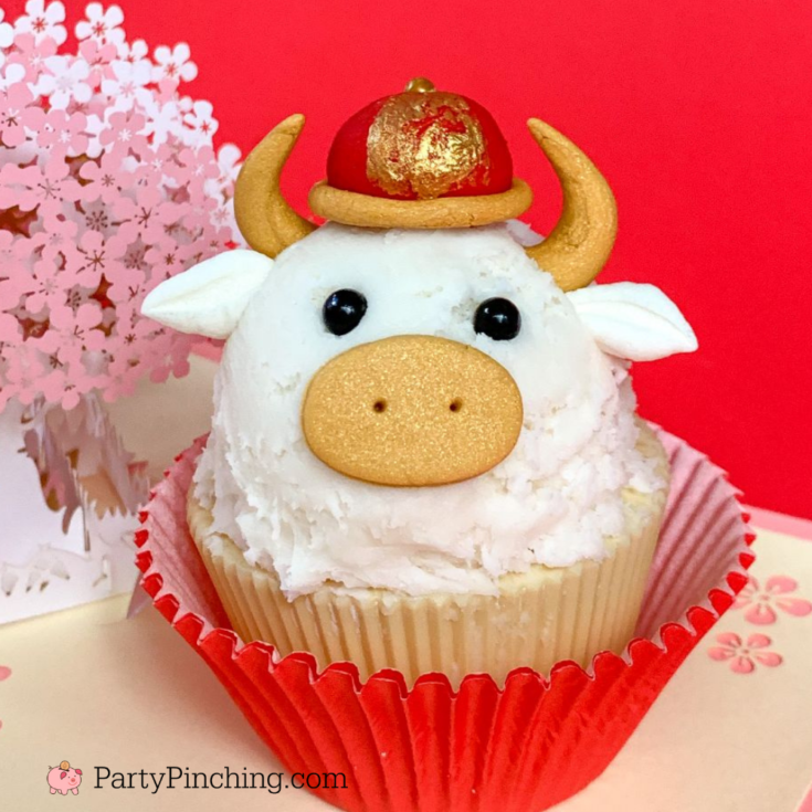 Year of the Ox Cupcake