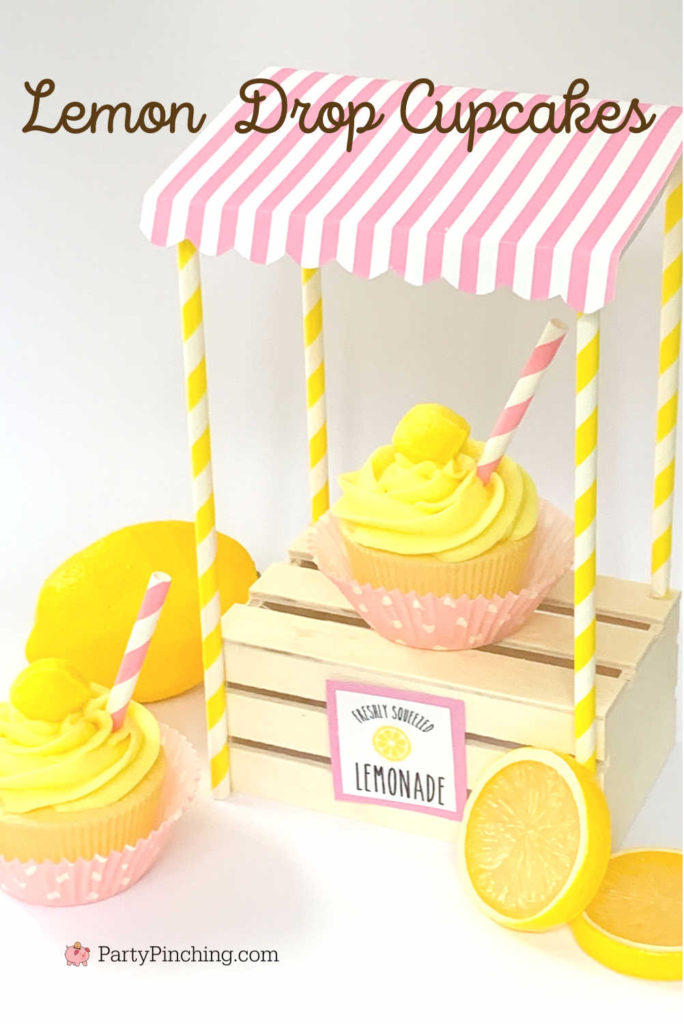 Lemon drop cupcakes, best lemon cake recipe, easy lemonade cake, best lemonade cake recipe