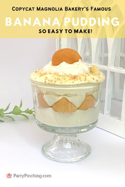 Best banana pudding recipe, easy banana pudding recipe, Magnolia bakery banana pudding recipe copycat, banana pudding, nilla wafers, potluck church dessert ideas